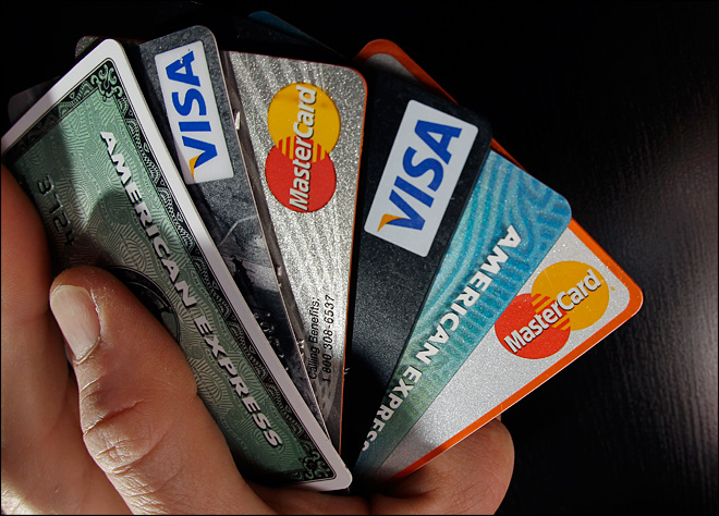Average credit card debt per borrower up in 3Q