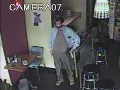 Surveillance image of suspected gunman