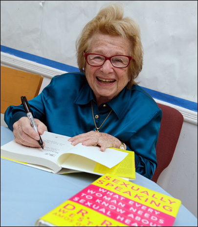 Hear her now? Dr. Ruth isn't done speaking up