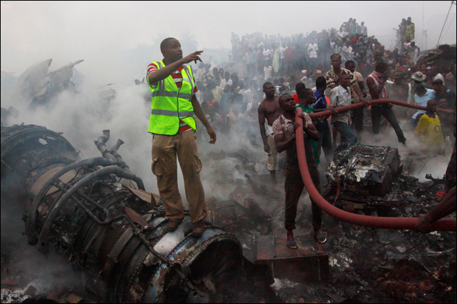 More than 150 killed in Nigeria plane crash