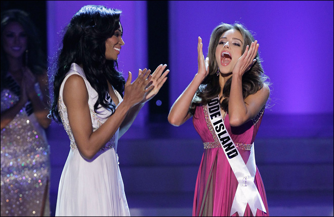 20-year-old Rhode Island cellist wins Miss USA