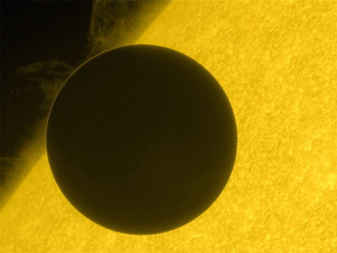 APTOPIX Venus Transit