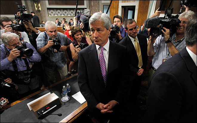 Dimon faces tougher questions on $2B trading loss