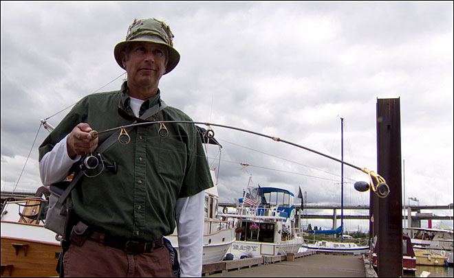 Fishing for a controversy? City tells anglers to reel it in
