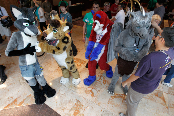 Furries looking to shed bad rap in Pittsburgh