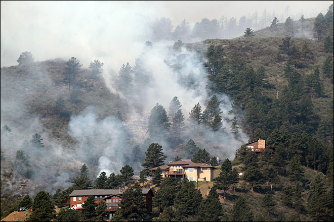 Wildfires claim 189 homes in northern Colorado