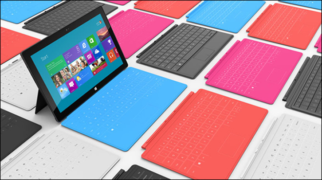 Microsoft unveils tablet to compete with Apple's iPad