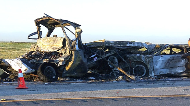 Series of I-5 crashes