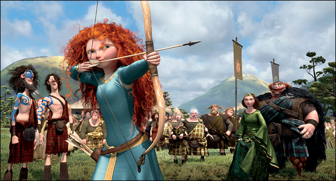 Review: &#39;Brave&#39; is beautiful but plays it too safe