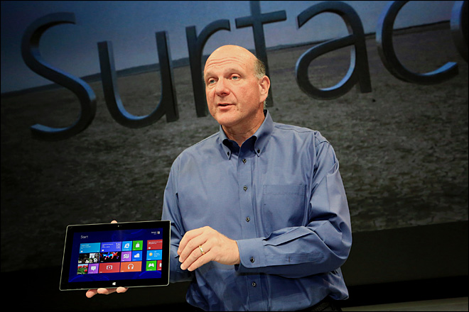 Microsoft tablet risks Surface tension among PC makers