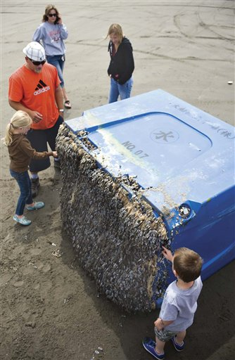 Find tsunami debris on the Oregon coast? Call 211