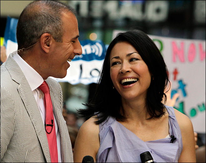 NBC discussing plan to remove Ann Curry as host