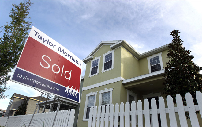 US new-home sales fall to 350,000 -- a 5-month low