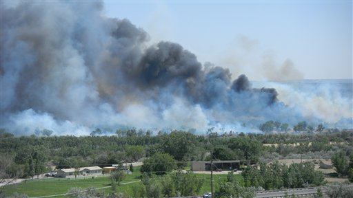 New Mexico Wildfires Bloomfield