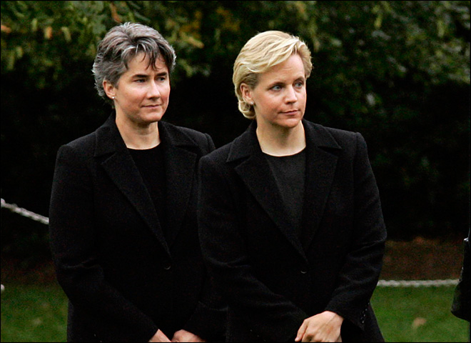 Former VP Cheney's daughter marries partner