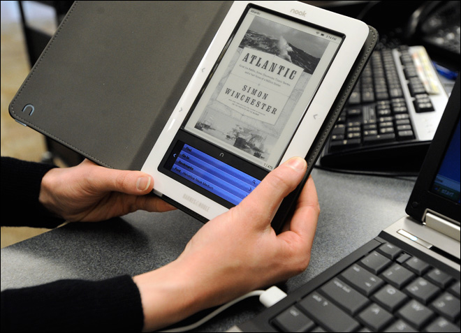 Study: E-book library borrowing takes slow pace
