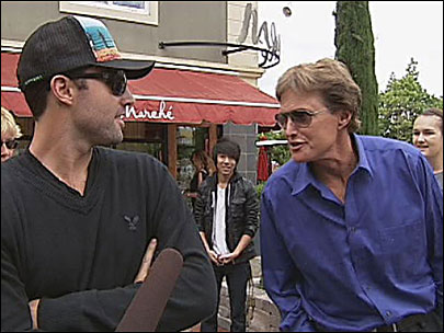 Raw Video: Bruce Jenner back in Eugene after 36 years