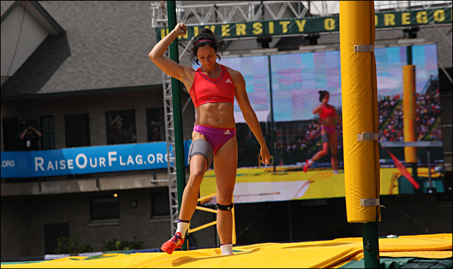 Suhr clinched Olympic spot after pole vault victory