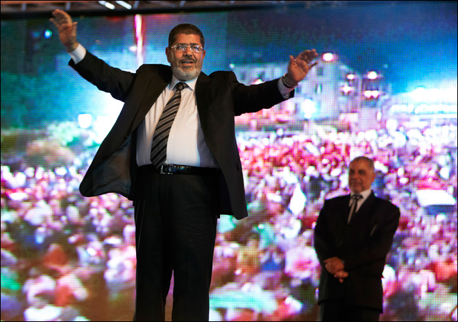 Islamist wins Egypt's first free presidential election