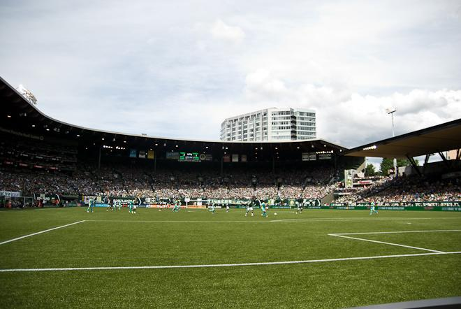 Portland Timbers Host The Seattle Sounders