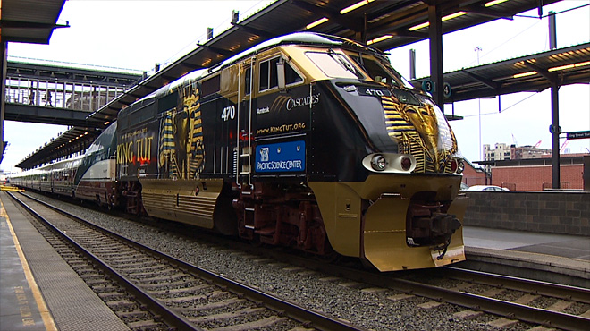 King Tut locomotive