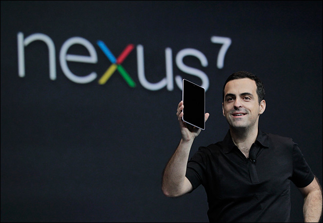 Google unveils Nexus Seven -- its own tablet