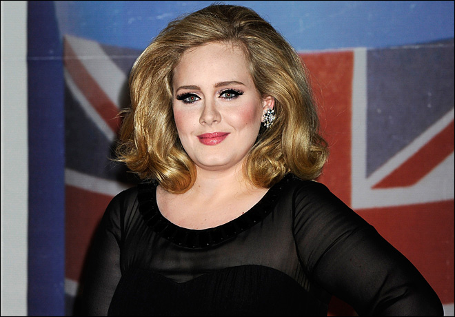 Adele's 2011 holdover '21' still tops in 2012