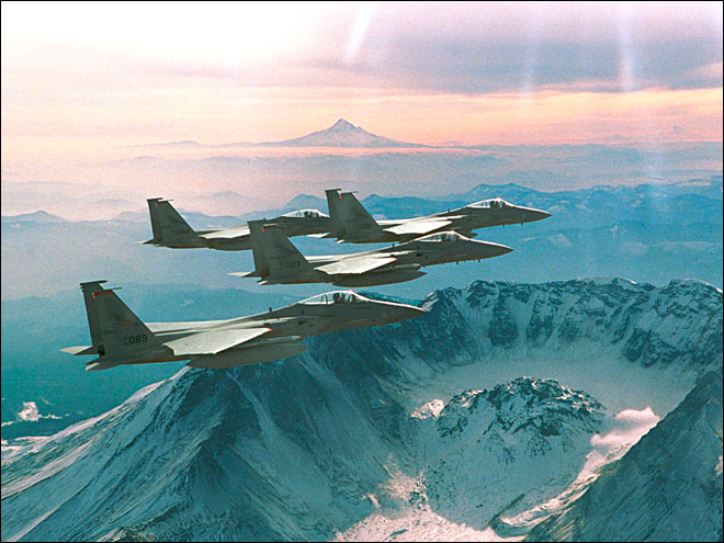 F-15s to fly over Creswell on July 4