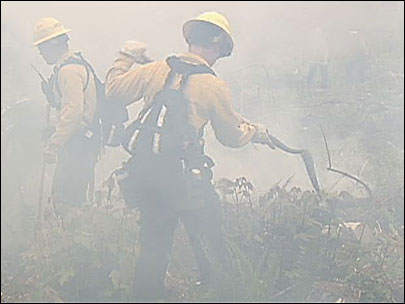 From fire school to the front lines: New recruits ready to fight wildfires