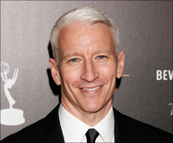 Anderson Cooper says he suffered sun blindness