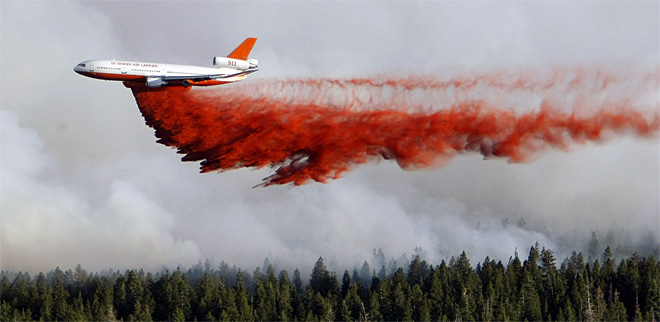 APTOPIX Western Wildfires