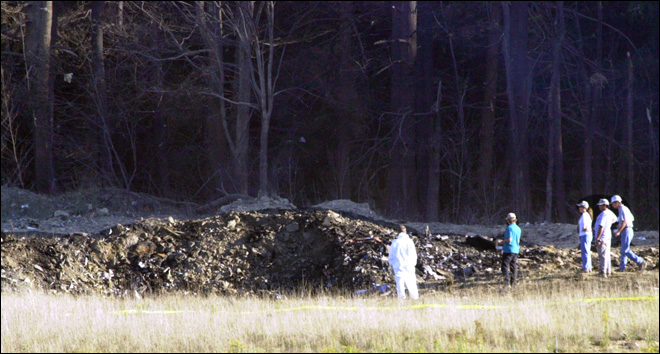 Ex-FBI employee claims she saw angels at Flight 93