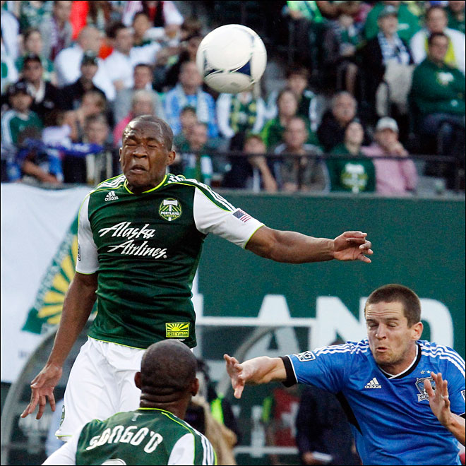 MLS Earthquakes Timbers Soccer
