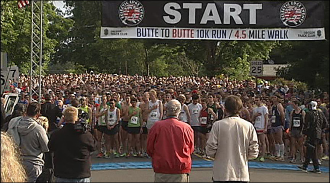 39th Butte to Butte kicks off 4th festivities