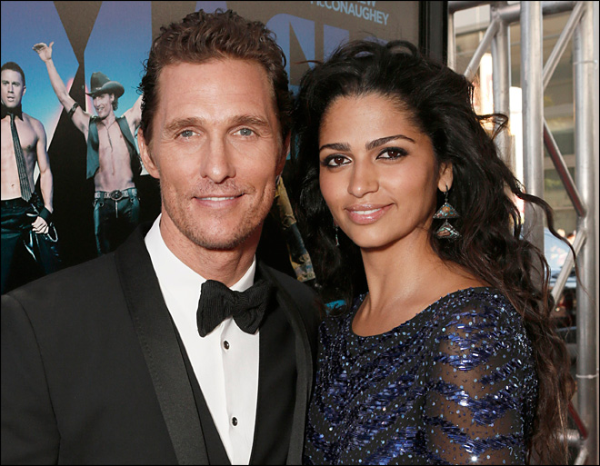 Matthew McConaughey and new wife expecting