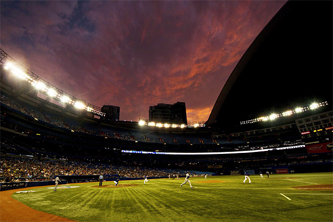 APTOPIX Royals Blue Jays Baseball