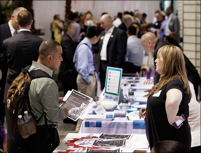 U.S. employers add 80,000 jobs as economy struggles