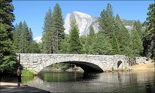 Battle over the historic bridges of Yosemite Valley