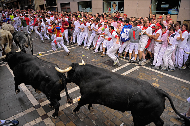 6 injured in Spain's Pamplona running of the bulls