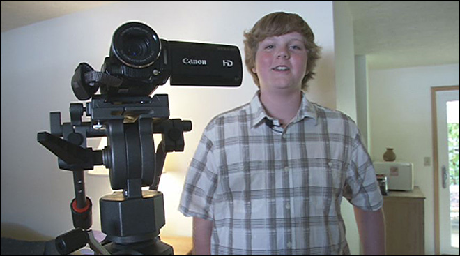 Philomath teen directing feature film