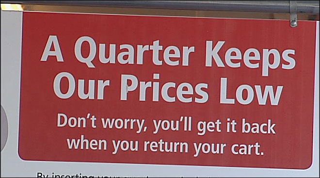 Quarter cart deposit: 'It's brand new for customers'