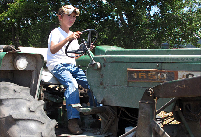 Parents defend putting children to work on farms