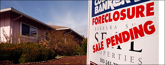 Fewer U.S. homes repossessed by banks in 2012