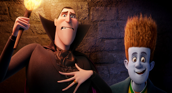 Adam Sandler looks to rise again in 'Transylvania'