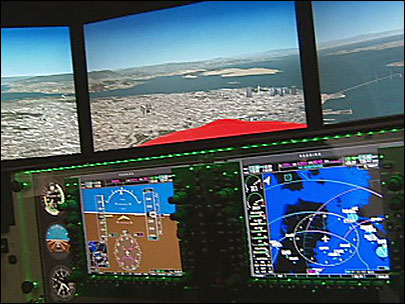 Flight simulator takes off at Creswell airport