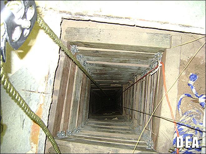 4 drug tunnels found along US-Mexico border