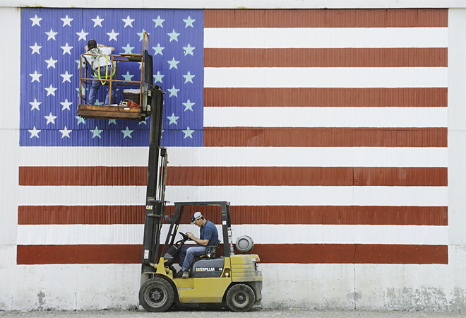 Flag Mural Touch Up