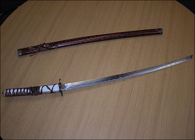 Samurai sword-swinging Salem man arrested at state Capitol