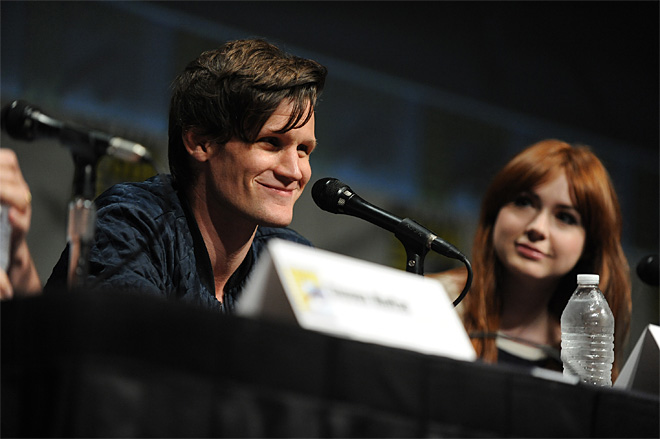 2012 Comic Con – Doctor Who Panel