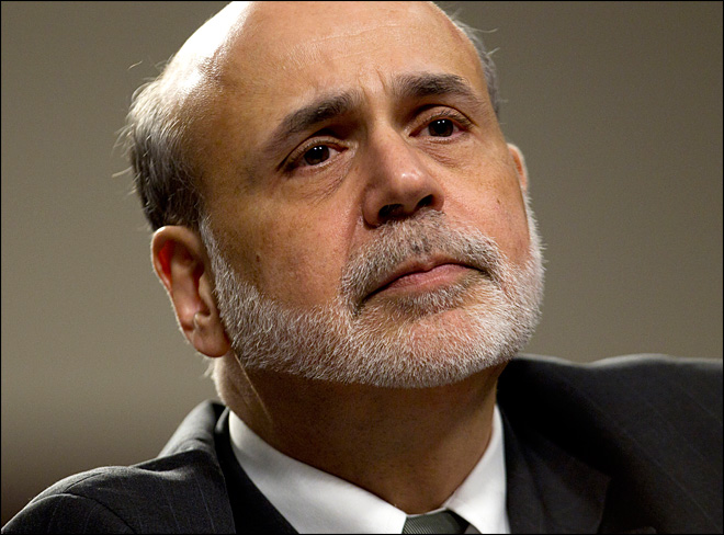Bernanke: Recession likely if Congress doesn't act